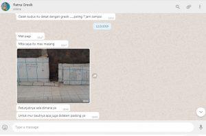 Alkhamdulillah Paketan Booth Container Bumbu Pintar Sudah Sampai di Gresik 0822 2221 7966