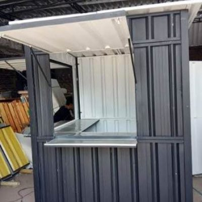 booth container Ukuran150x150x200