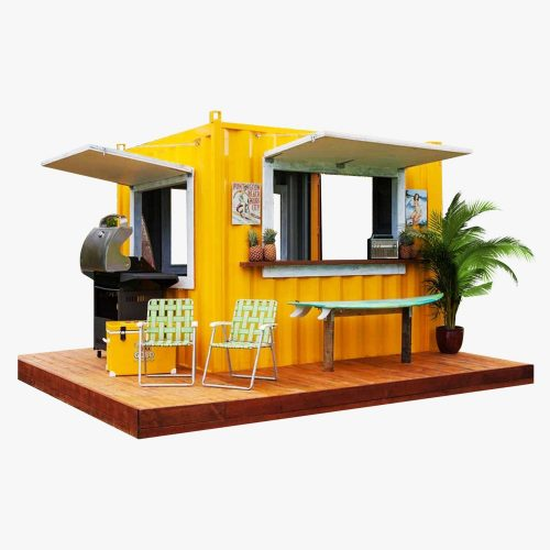 harga booth container