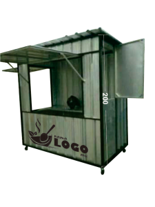 booth kontainer kekinian