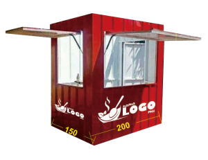 jasa pembuatan booth container