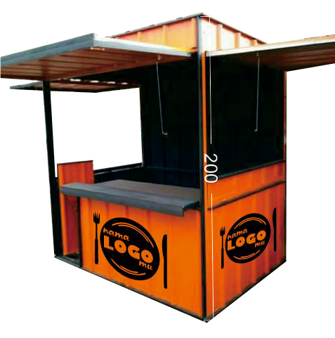 jual booth container